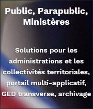 Solutions de GED pour administrations et collectivités territoriales
